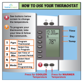 New thermostats for low-income residences